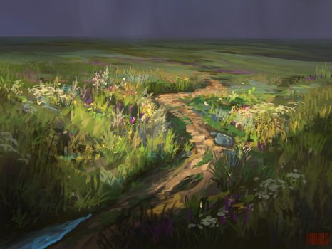 Speedpaint 59 Motley Grass by RHADS