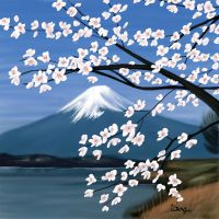Mt Fuji by UsagiProjects
