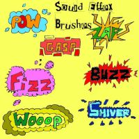 Sound Effects Brushes by Red--Roses