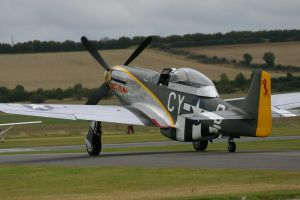 p51d miss velma taxiing 2 by Sceptre63