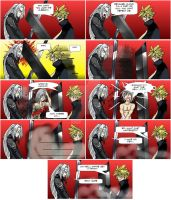 Final Fantasy VII AC comic by EmeraldSora