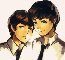 John and Paul by Cloister04