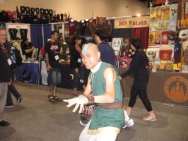 earthkingdom Aang by IamWatertribe