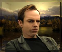Solitude-Hugo Weaving by Aeltari