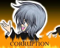 Judgement of Corruption Cover- Alto Colony by MewKwota