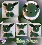 Shiny Jolteon Plushie :Sold: by Ami-Plushies