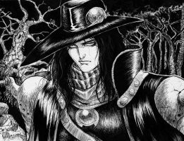 Vampire Hunter D by Anchefanamon