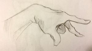 Old Hand Practice by isami183