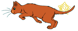 ThunderClan - Pinestar by WildpathOfShadowClan