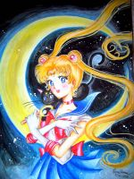 Sailor Moon by ArtsyVana