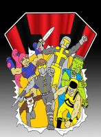 Deviant Universe Thunder Force by backerman