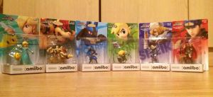 Amiibo Figure Characters 3 by extraphotos
