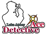 Luke Atmey - Ace Detective Fan Logo by MinuanoGS