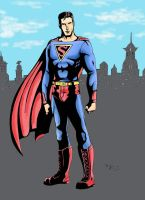Superman Remixed Colors by chimera335