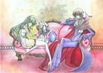 Lelouch and C.C. - Colored by Andrex91