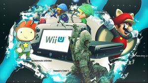 Wii U Wallpaper by EpixFailz