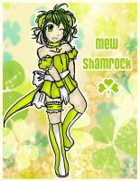 Mew Mew Shamrock by potato-u-princess