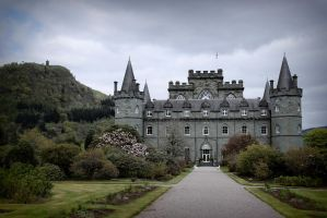 Inveraray Castle by black-amber