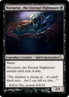 MtG - Nocturne, the Eternal Nightmare by soy-monk