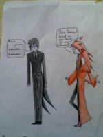 Hang in There Sebastian by PhantomhiveForever48