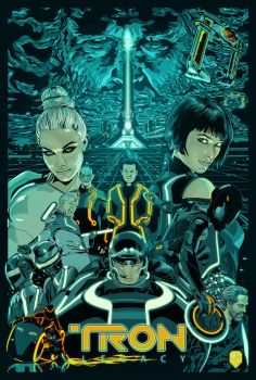 Tron Legacy by wild7even