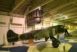 hawker tempest side view by Sceptre63