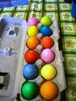 Easter Eggs 1 by dull-stock