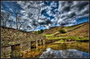 Sheep Crossing by cliffsh