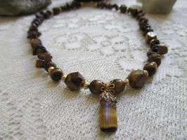 Earth-Elemental necklace series by Destinyfall