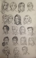 Harry Potter Next Gen doodles by DidxSomeonexSayxMad