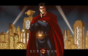 The Man of Steel -Superman by ErikVonLehmann