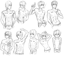 TXC: male anatomy sketch practice 1 by Tiny-Midget