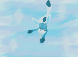 Glaceon2 by RayCrystal