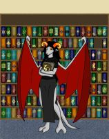 Aradia: Hit the Books by CelticDragonQueen