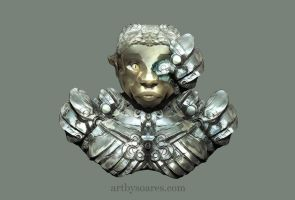 Fantasy Sculpt by Bamboo-Learning