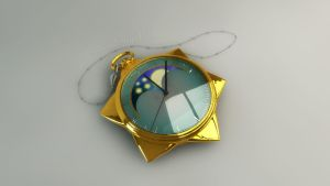 Sailor Moon Star Locket, Spieluhr 3D #2 by digitalAuge