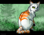 Pine Clan's Medicine Cat -Art Trade- by KasaraWolf
