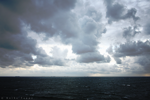 clouds above the North Sea by kt-fotografie