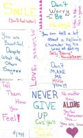 Library Love Notes by Darkness-falls133