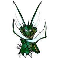 MDXCollab-No.123 Scyther by Chronos-Kun