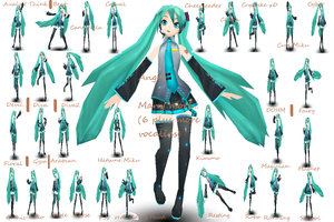 Project Diva Hatsune Miku Prev by Pink-Heart-Pri