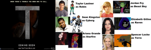 Teen Titans Live Action Movie-My Cast by thomasedsfan