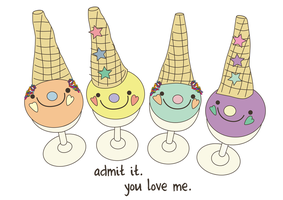 love ice cream by lucicouto