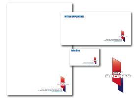 Sky Sports Stationery by NineteenPSG