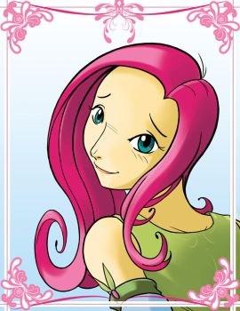 Brony time - Fluttershy by SycrosD4