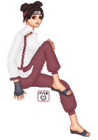 Tenten from Naruto Shippuden by mbarnes1845
