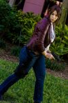 Claire Redfield - Not a moments rest by HoodedWoman