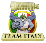 WCOP Team Italy Logo by BrightObject
