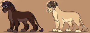 Lion Adopts 1 by SewerKing