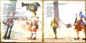 [Dragon Nest] Kokia ~Road to Glory~ lyrics booklet by CWArishou
